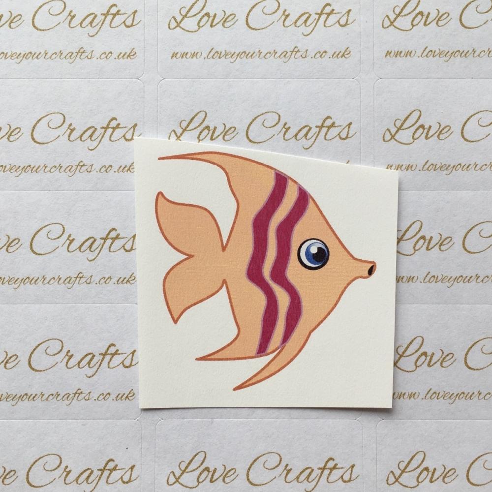 LC Ribbon Transfer - Large Fish
