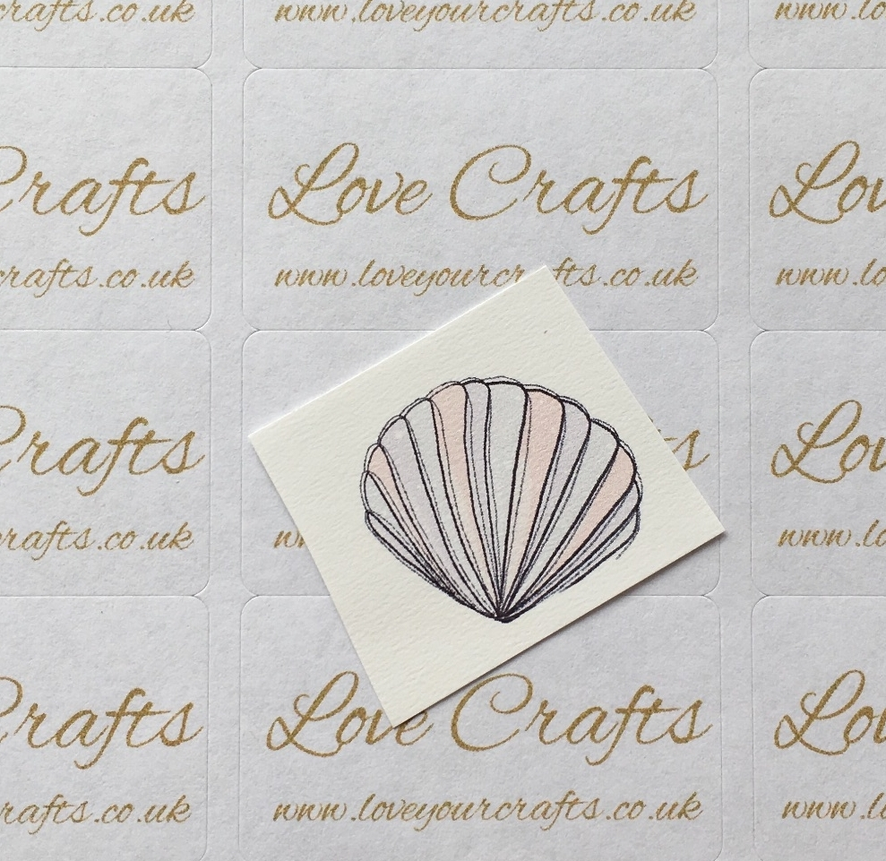 LC Ribbon Transfer - Sea Shell