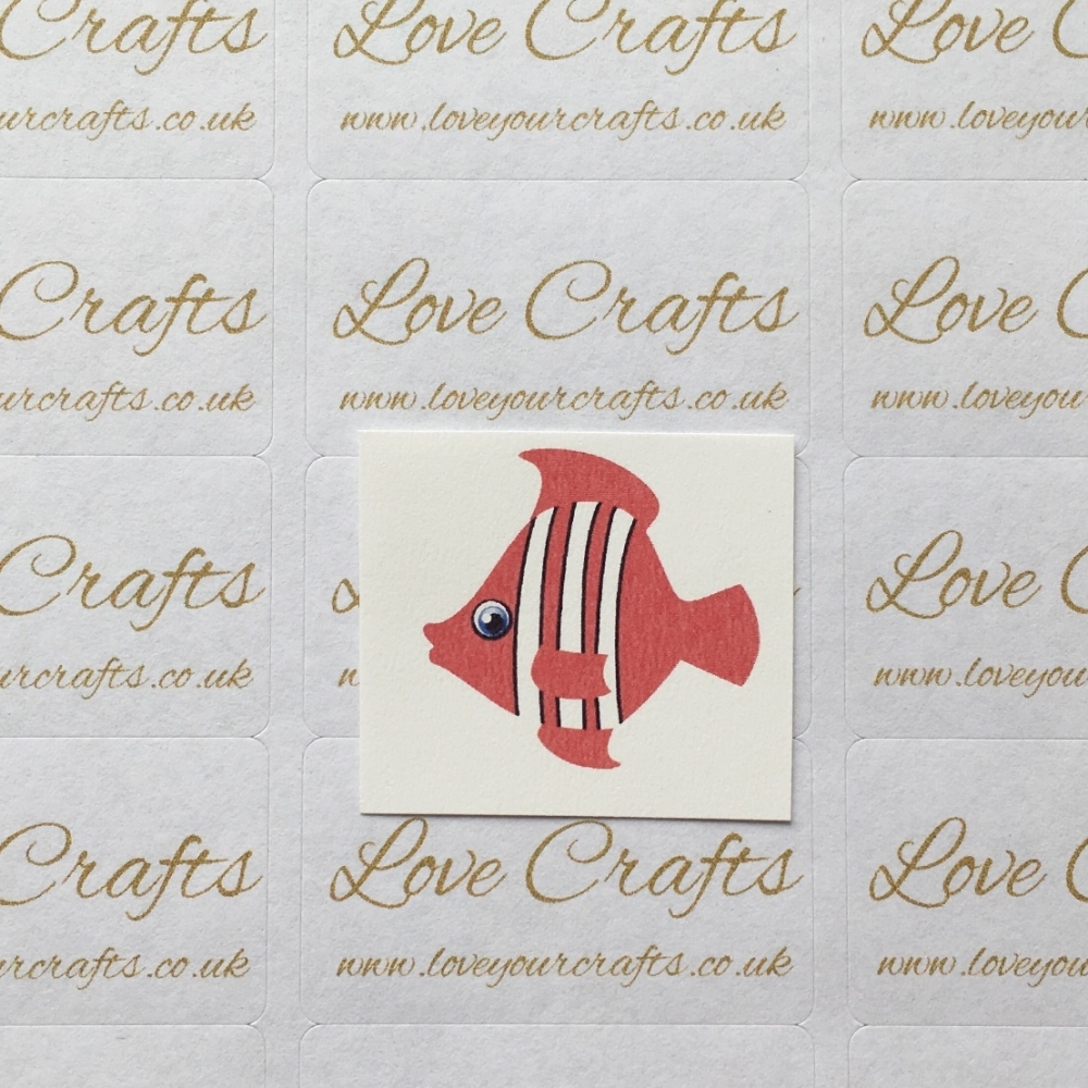 LC Ribbon Transfer - Small Fish