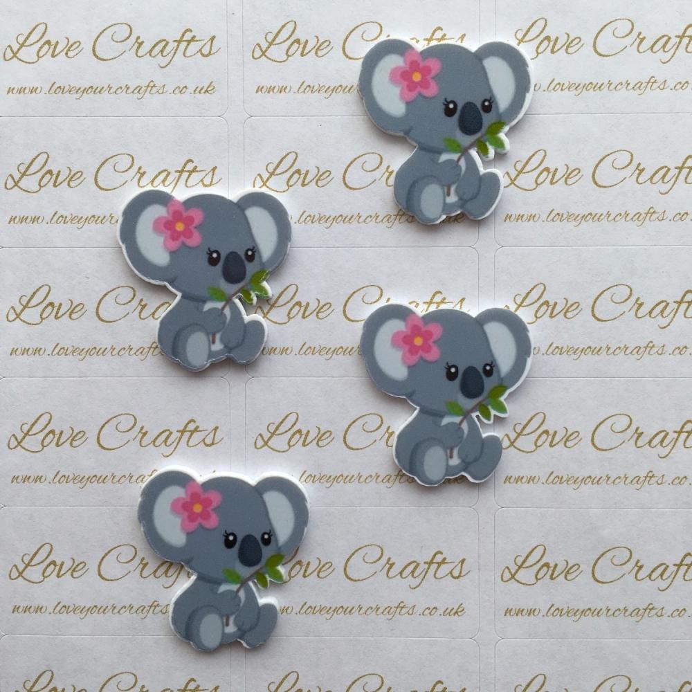 Cute Koala Laser Resin