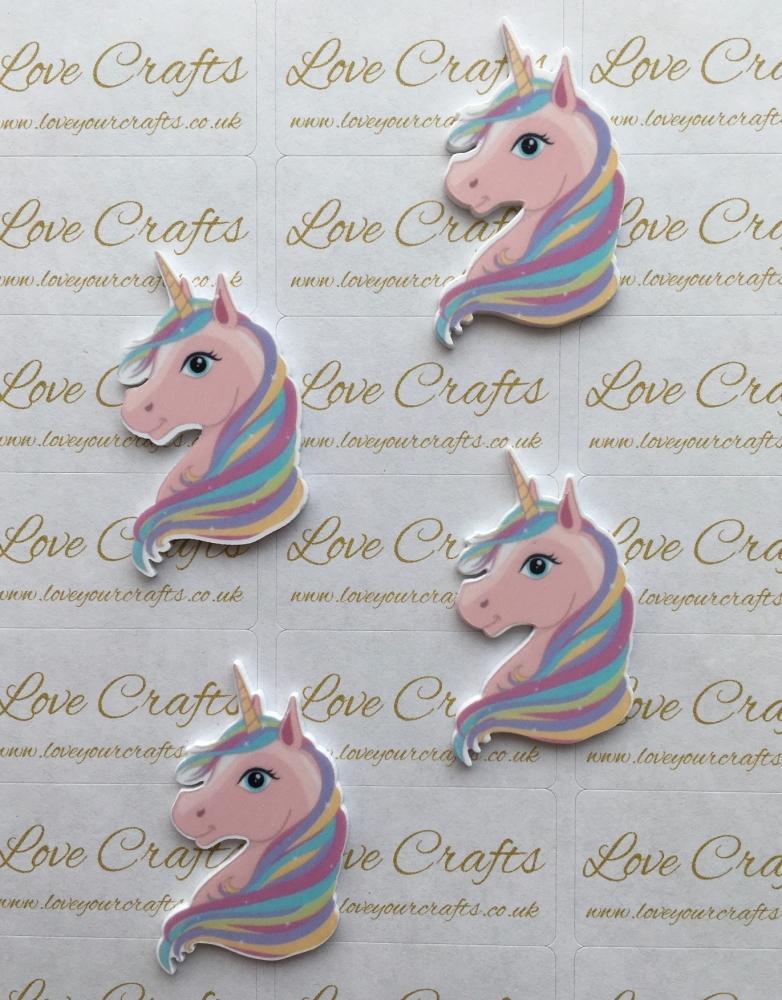 Pastel Unicorn Laser Resin