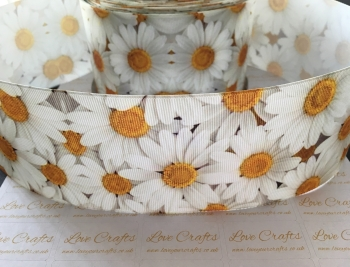 New Daisies Grosgrain Ribbon
