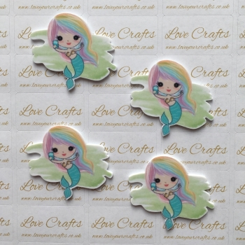 NEW Pretty Mermaid Laser Cut Resin