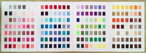 # Plain Grosgrain Colour Chart