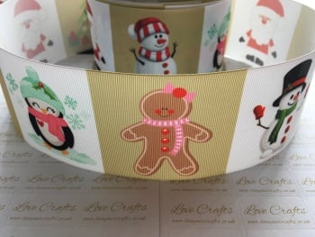 Christmas Character Grosgrain Ribbon