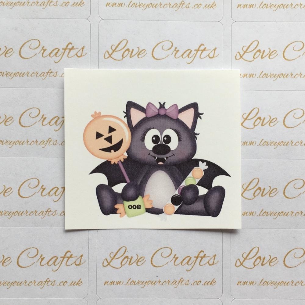 LC Ribbon Transfer - Halloween Bat