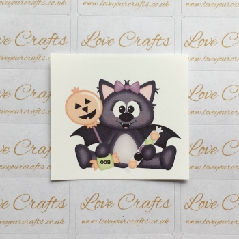 LC Ribbon Transfer - Halloween Bat