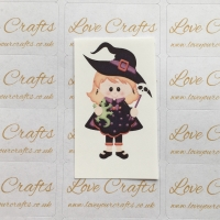 LC Ribbon Transfer - Halloween Witch