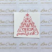 LC Ribbon Transfer - 'Merry Christmas'