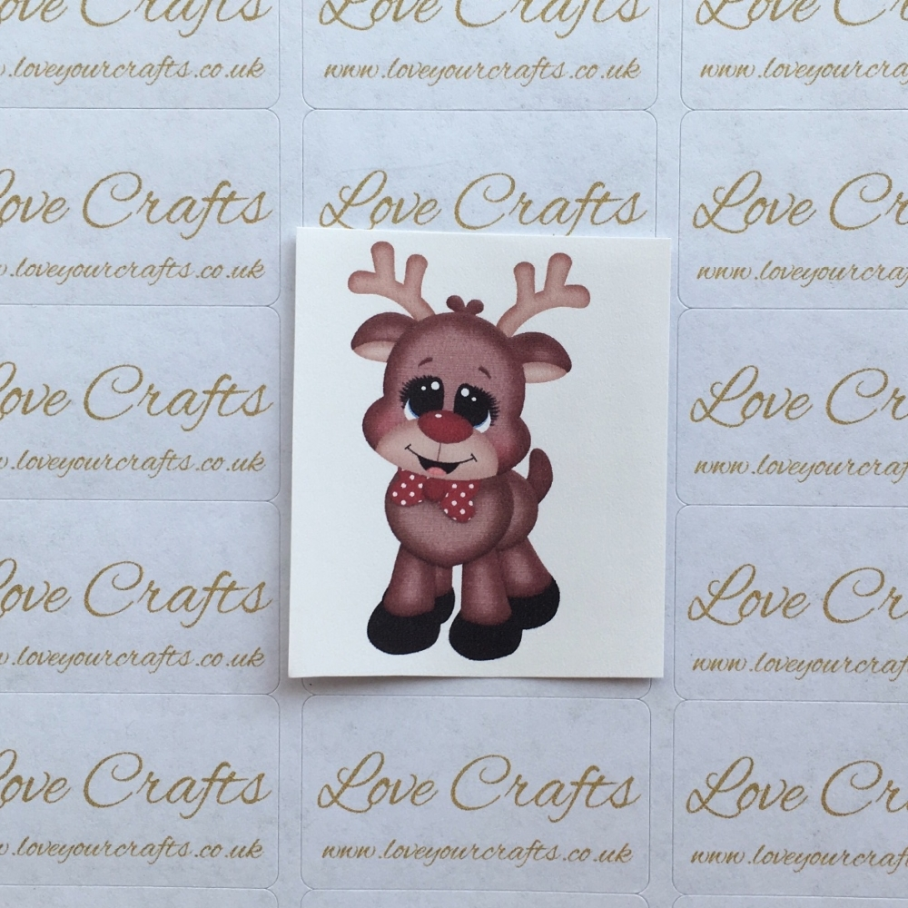 LC Ribbon Transfer - Reindeer