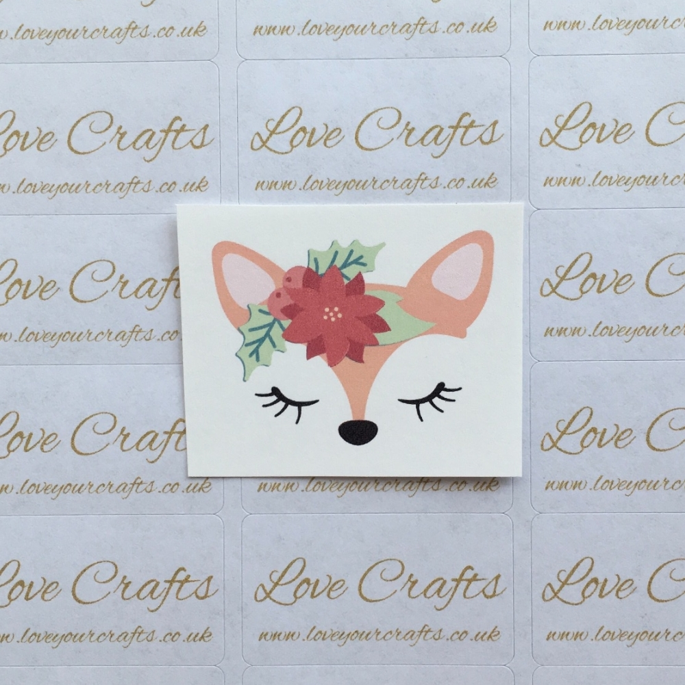 LC Ribbon Transfer - Sleepy Fox