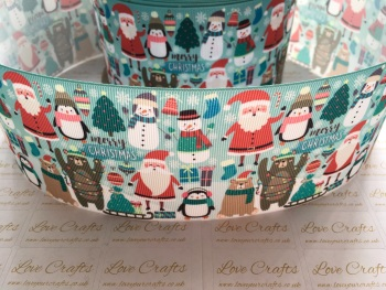 Christmas Friends Grosgrain Ribbon