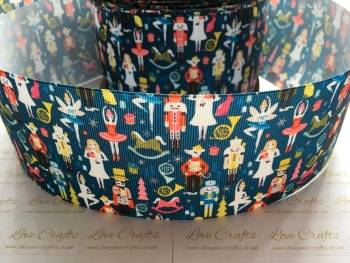 Nutcracker Grosgrain Ribbon