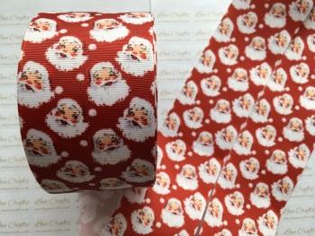 Red Santa Grosgrain Ribbon