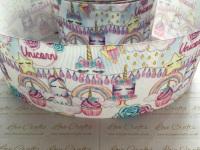 Unicorn Birthday Grosgrain Ribbon