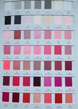 #155 Geranium Pink Grosgrain Ribbon