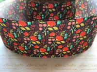 Bethany Floral Grosgrain Ribbon