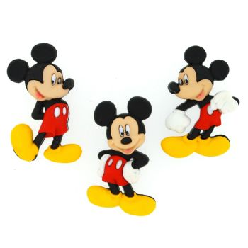 Dress It Up Buttons: Mickey Mouse