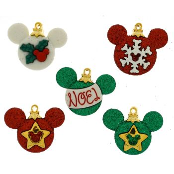 Dress It Up Buttons: Mickey Ornaments
