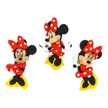 Dress It Up Buttons: Minnie Mouse