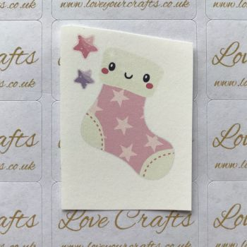 LC Ribbon Transfer - Christmas Stocking
