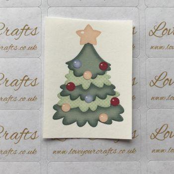 LC Ribbon Transfer - Christmas Tree