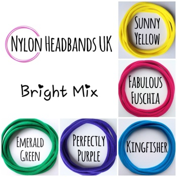 Pack of 5 Dainties - Bright Mix