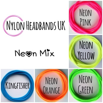 Pack of 5 Dainties - Neon Mix