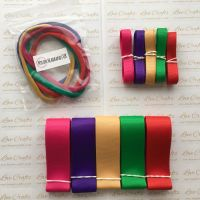 "3/8"" & 1"" Grosgrain Ribbon & Dainties Bundle 3"