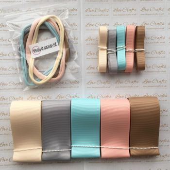 "3/8"" & 1.5"" Grosgrain Ribbon & Dainties Bundle 2"