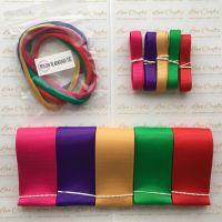 "3/8"" & 1.5"" Grosgrain Ribbon & Dainties Bundle 3"