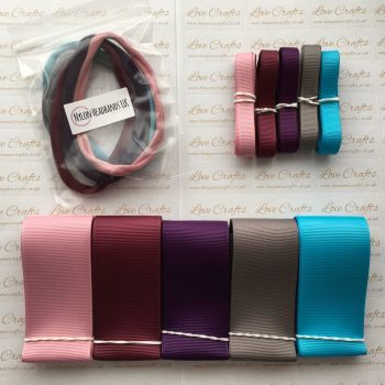 "3/8"" & 1.5"" Grosgrain Ribbon & Dainties Bundle 4"