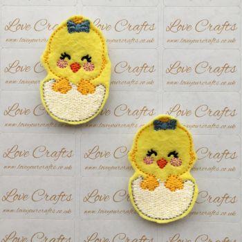 Easter Chick Feltie
