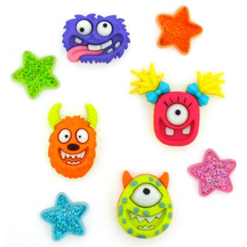Dress It Up Buttons: Monster Mash