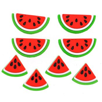 Dress It Up Buttons: Watermelons