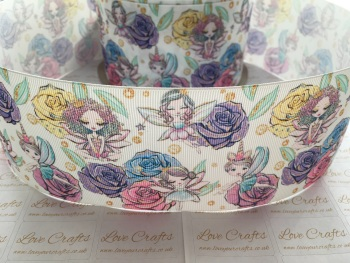 Flower Fairies Grosgrain Ribbon