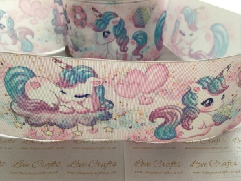 Unicorn Dream Grosgrain Ribbon