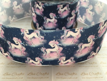 Unicorn Nights Grosgrain Ribbon