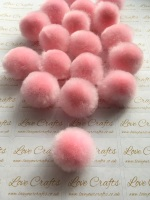 25mm Baby Pink Pom Pom