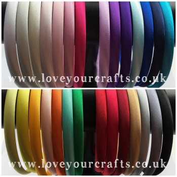 10mm Satin Headband