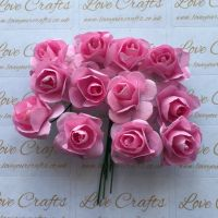 20mm Paper Flowers - Light Pink