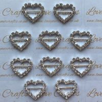Bling Heart Slider - Horizontal Bar