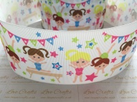 Gymnastics Grosgrain Ribbon
