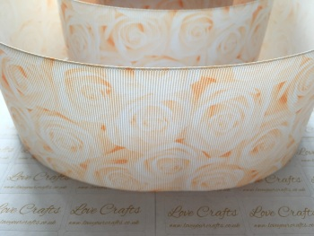 Nude Rose Grosgrain Ribbon