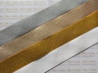"""1.5"""" Glitter Grosgrain Ribbon"""