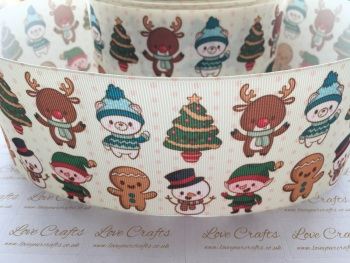 Festive Friends Grosgrain Ribbon