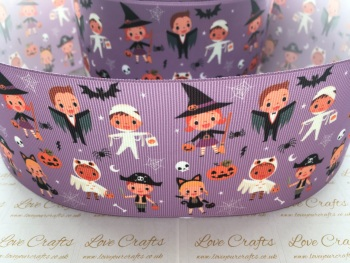 Halloween Dress Up Grosgrain Ribbon