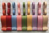 "3/8"" & 1"" Autumn Ribbon Bundle 1"