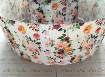 Delilah Floral Grosgrain Ribbon