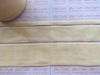 #028 Antique White Velvet Ribbon